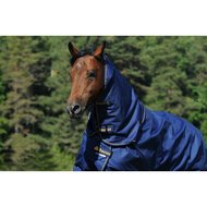 Bucas Irish Turnout Combi Neck Navy/Gold