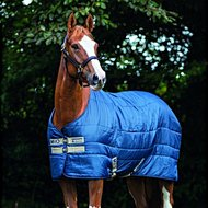 Mio Stable Rug Medium Navy/Tan