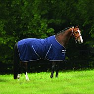 Rambo Stable Rug Light Navy/White