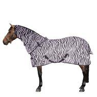 Harrys Horse Couverture Anti-Mouches Cou Indépendant Zebra