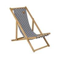 Bo-Camp Strandstoel Soho Bamboe 60,5x4x140 cm