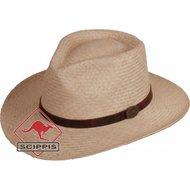 Scippis Panama-Strohhut Lopez natur
