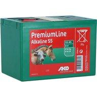 Ako Afrasterbatterij Alkaline PremiumLine 9v 55Ah