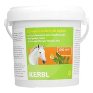 Kerbl Hoof Grease for Horses&apos Hooves Black 1L