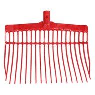 Agradi Shaving Fork KS without steel Red