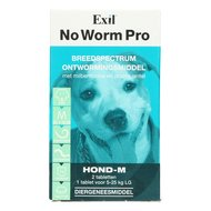 Exil No Worm Pro Hond-M 2 tabl  M