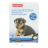 Beaphar Milquestra Wormtablet Kleine Hond/Puppy 0,5-10kg 2st
