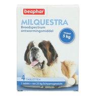 Beaphar Milquestra Wurmtabletten Hund 5-75kg 4St.