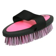Ezi Groom Body Brush Bright Pink