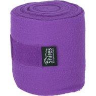 Shires Bandages Fleece Purple 15cm