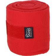 Shires Bandages Fleece Red 15cm