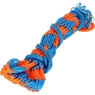 Shires Hooinet Deluxe blauw/oranje 102cm