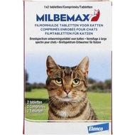 Milbemax Ontwormingstablet Kat Groot 2 Tabletten >2kg
