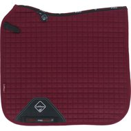 LeMieux Saddle Cloth DR ProSport Plain Sq D-ring Burgundy L