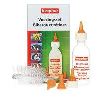 Beaphar Aufzuchtset mit Trinkflasche, Saugern und Reinigungsbürsten