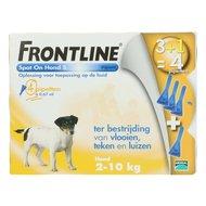 Frontline Spot-On Hond S 2-10kg 4 Pipetten