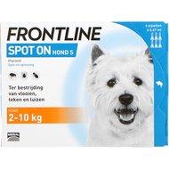 Frontline Flea Treatment Spot-On 2-10kg Dog