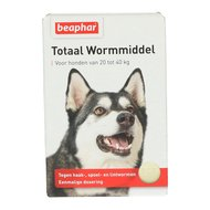 Beaphar Wormmiddel Totaal hond groot 4st