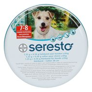 Seresto Tick and Flea Collar Small Dog max 8kg 38cm