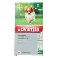 Advantix 40/200 Spot-On Hond <4kg