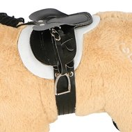 Crafty Ponies Zadel Leer