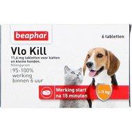 Beaphar Vlokill+ kat en hond tot 11kg 6st