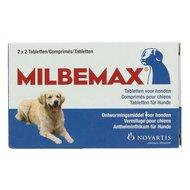 Milbemax Ontwormingstablet Hond 5-75kg 2x2tabl