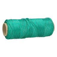 Ako Litze für Hobbyset 100m Grün/Transparent 3x0,15