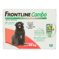 Frontline Combo Spot-on Hond XL 40-60kg 6 Pipetten