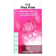 Exil Flea Free Fiproline Spoton Kat 3 Pipetten