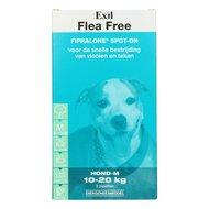 Exil Flea Free Fiproline Spot On Hond M 3 Pipetten