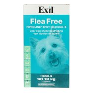 Exil Anti Flohmittel Flea Fre Fiproline Spot on