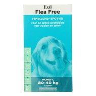 Exil Flea Free Fiproline Spot On Hond L 3 Pipetten