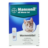 Mansonil All Worm Kat 4 Tabletten