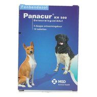 Panacur KH 500mg Hond 10 Tabletten