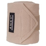 Anky Bandages Basic Fleece Set van 4 Sand 3,5m