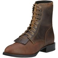 Ariat Western Heritage Lacer D Distressed Brown