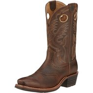 Ariat Western Hrtg Roughstock D Brown Oiled Rowdy