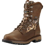 "Ariat Conquest 8"" GTX 400G Pebbled Brown D 48"