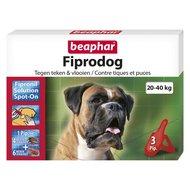 Beaphar FiproDog Spot-On Hond L 20-40kg 3 Pipetten