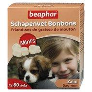 Beaphar Schapenvet Bonbons Mini Zalm 80st 245gr