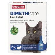 Beaphar DIMETHIcare Line-On Kat 6 pipetten