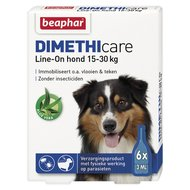 Beaphar DIMETHIcare Line-On Hond Middel 15-30kg 6 pipetten