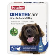 Beaphar Flea Treatment DIMETHIcare Line-on Dog Large 6Pips