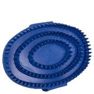 Premiere Grooming Brush Rubber Oval Blue