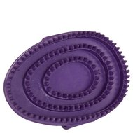 Premiere Grooming Brush Rubber Oval Purple L