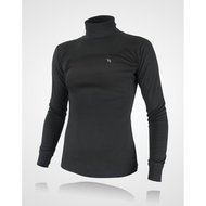Back on Track Rollkragensweatshirt Damen Schwarz