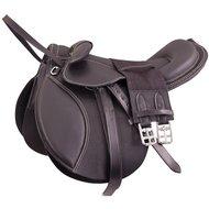 Premiere Saddle Pony Leathers Stirrup Leathers Black 12inch