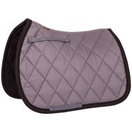 BR Saddlepad GP Event Cotton with Luxury basic grey Full