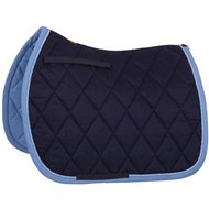 BR Saddlepad GP Event Cotton with Luxury Navy Full